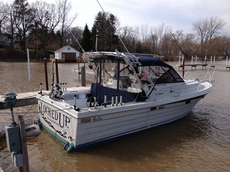 Our Charter Boat Is A 1987 Penn Yan Predator Her Name Locked Up Has Always Been Known As Manufacturer Of Well Built Boats Meant To Catch